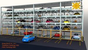 torre de estacionamiento inteligente