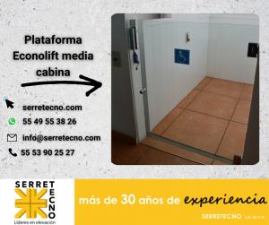 Plataforma Econolift en establecimientos