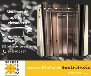 Puertas diferentes en los elevadores