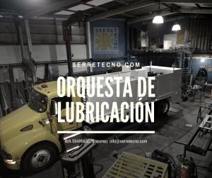 Marimbas de servicios y lubricación móviles