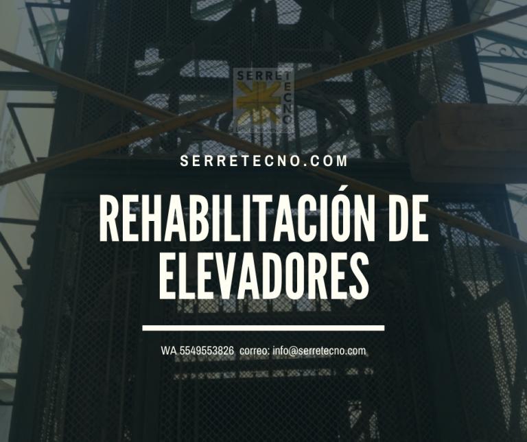 Lee más sobre el artículo Rehabilitación de elevadores