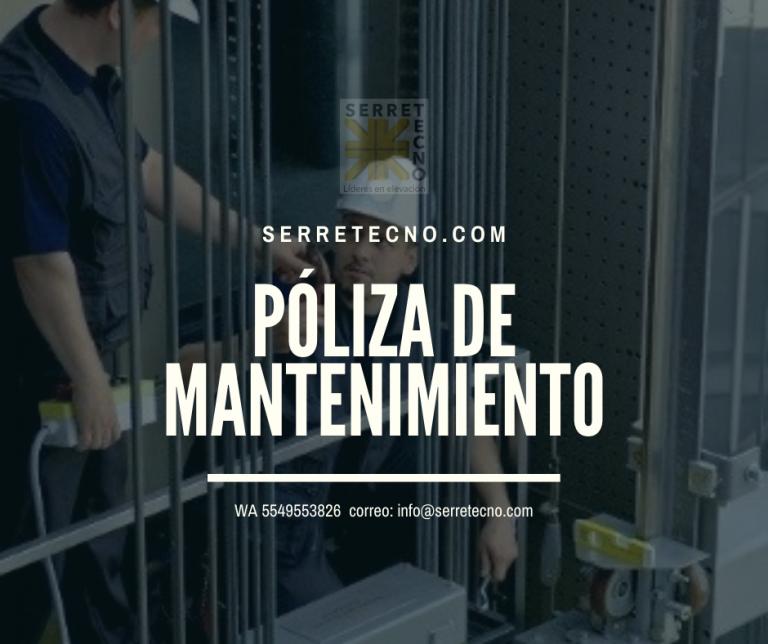 Lee más sobre el artículo Póliza de mantenimiento