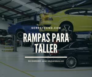 Lee más sobre el artículo Rampas que optimizan su taller