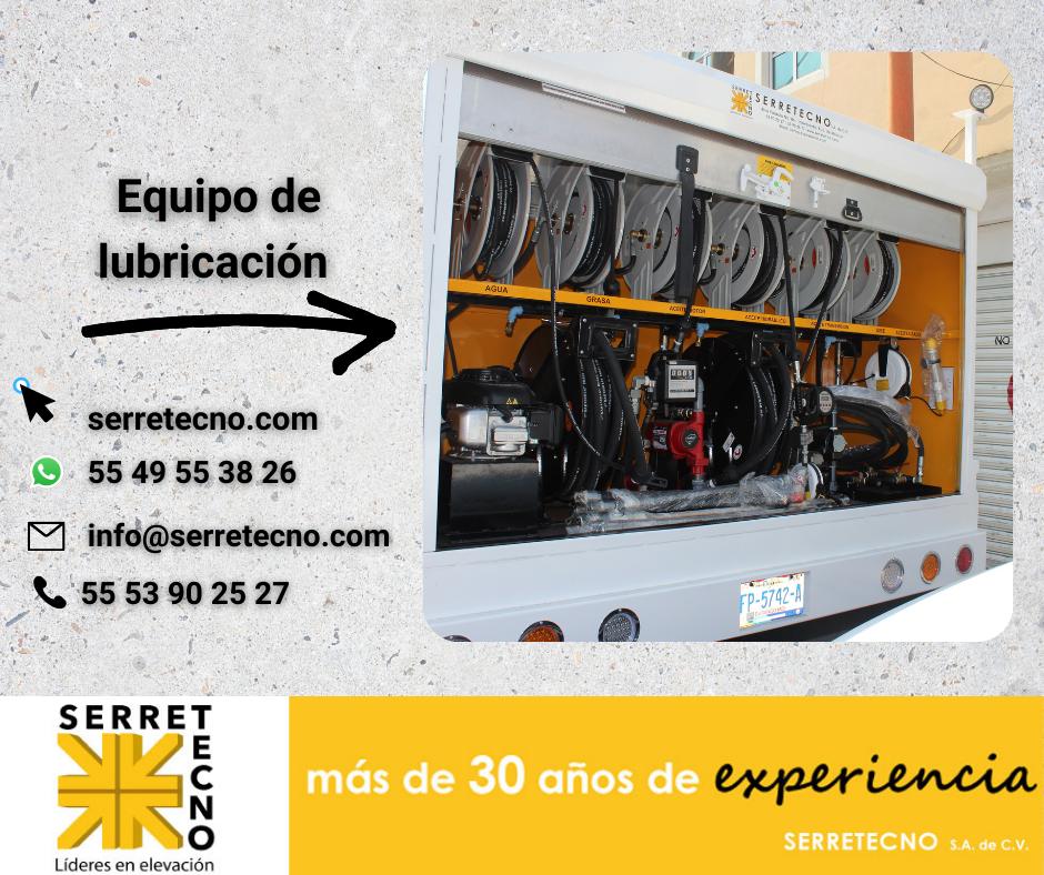 Equipamiento de Marimbas de lubricación móvil