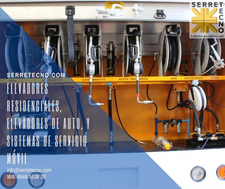 Lee más sobre el artículo Equipo especializado para equipos móviles de servicio